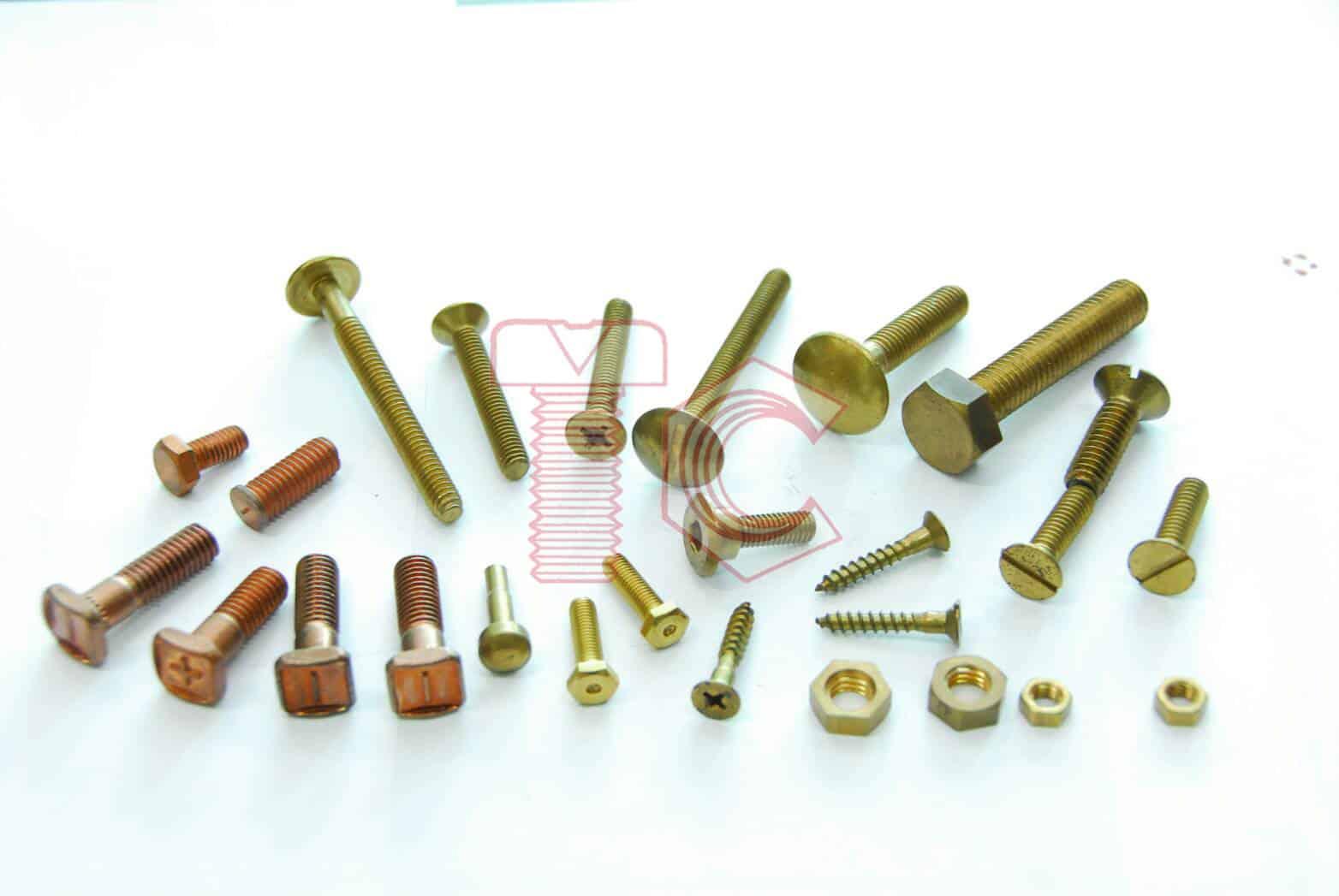 Screw Brass - สกรูทองเหลือง